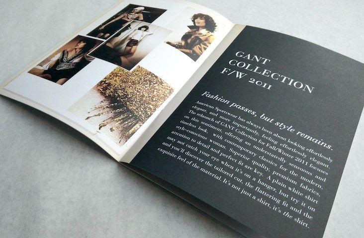 GANT / Sales Books #gant #brand #strategy #design #retail #consultant