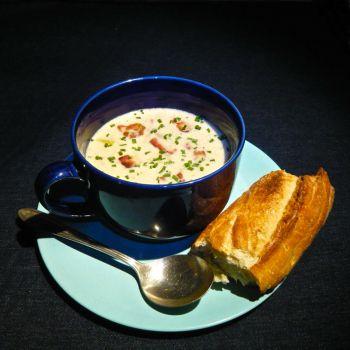 lobster mushroom & corn chowder | Soups | Pinterest | Chowders ...