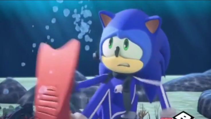 "Sonic Boom season two episode 7 ""I Can Sea Sonic's Fear From Here"" BOOMTIME"