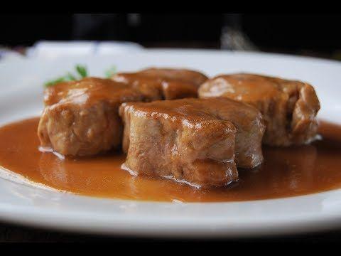 Vídeo receta del solomillo de cerdo al Pedro Ximénez: | Comparterecetas.com