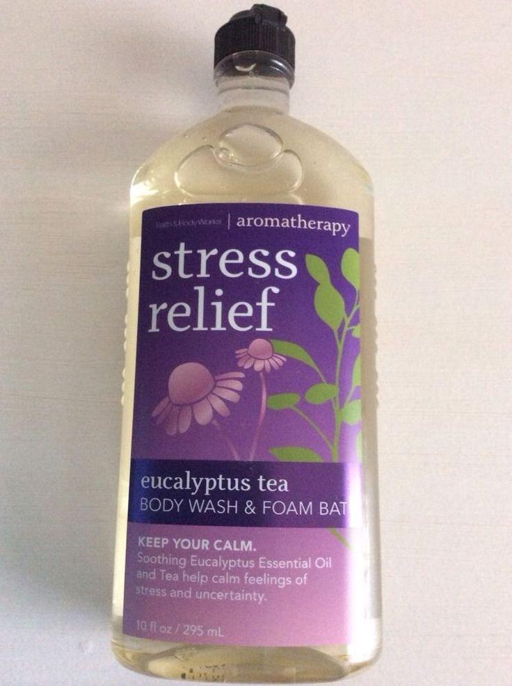 Bath body works aromatherapy stress relief eucalyptus