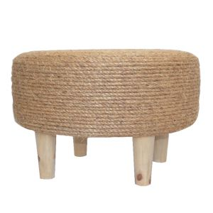 Manilla Ottoman - Handmade. Use as stool or table. Available at sourced4you.com.au