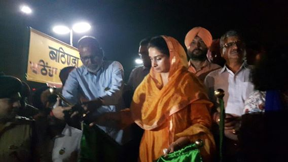 We received the Shatabdi express from Delhi to Ferozepur at Bathinda. With the extension to Ferozepur, the train will improve the connectivity of Malwa region. #harsimratkaurbadal #akalidal