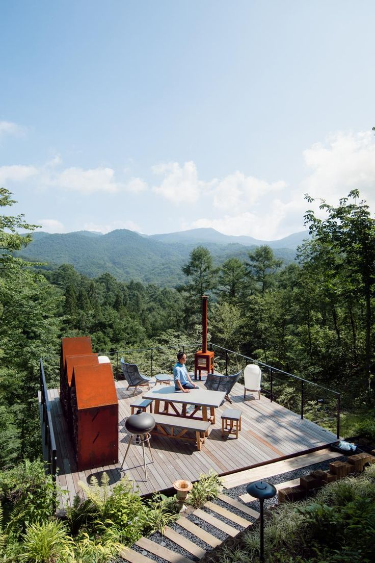 AB Concept's hot-spring mountain retreat in Karuizawa ... on Ab And Outdoor Living  id=45014