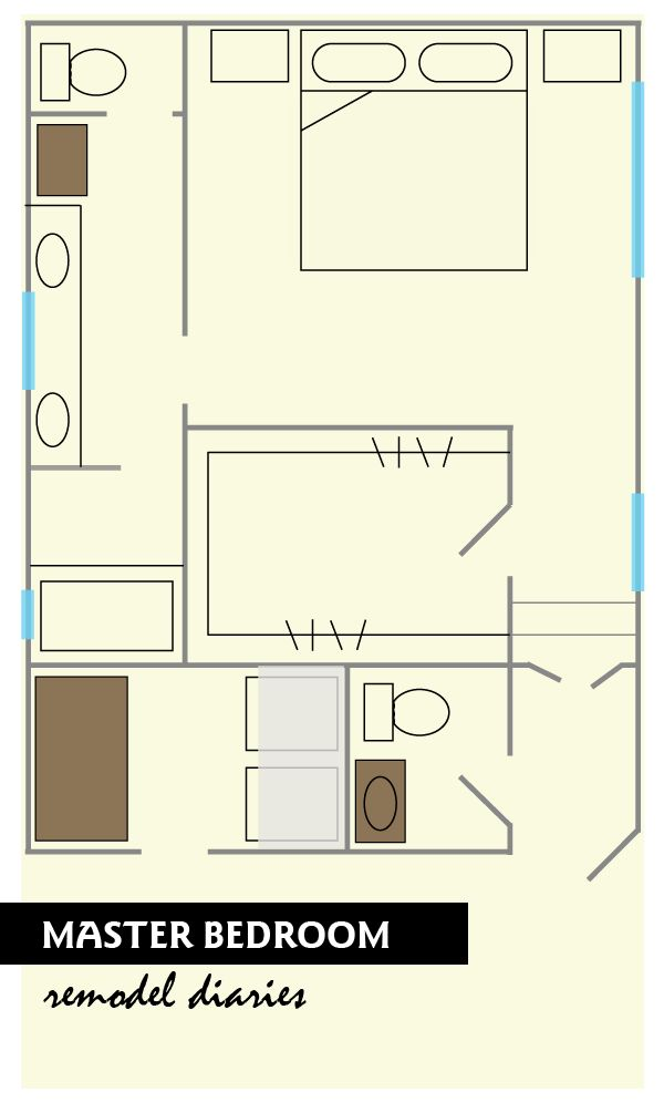 Master Bedroom Plans And Ideas Master Bedroom And Bathroom Floor Plans For The Home
