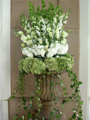 wedding deco green