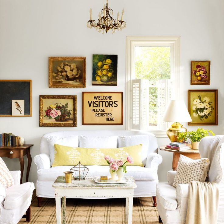 Country Living Room Decoration Ideas