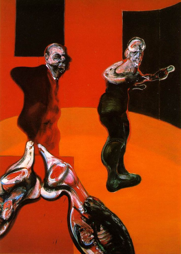 Three Studies for a Crucifixion 1 Francis Bacon, 1962