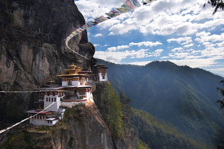 Paro Taktsang, the Tiger's Nest