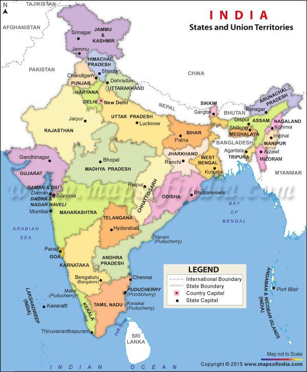 India Political Map