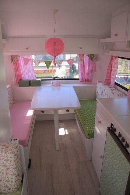 romantische roze caravan 5                                                                                                                                                     Mehr