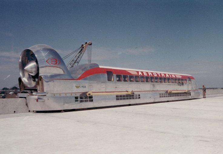 STRANGE RUSSIAN JET POWERED MONORAIL AEROTRAIN - SVL