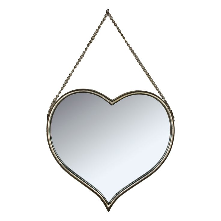 This Vintage Styled Hanging Pretty Heart Shaped Wall Mirror Will Look Amazing In Any Bathroom Or Shabby Chic Home Heart Mirror Shabby Chic Bedrooms Shabby Chic