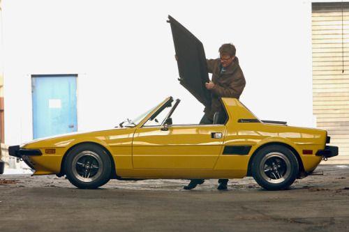 vintageclassiccars:  Fiat X 1/9, a Bertone design - a baby...