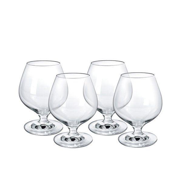 Набор бокалов Cognac 360мл 6шт Borgonovo 11094020