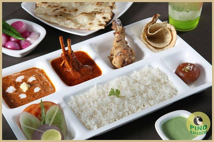 Pind Balluchi Special Thali @Unbelievable Prices.