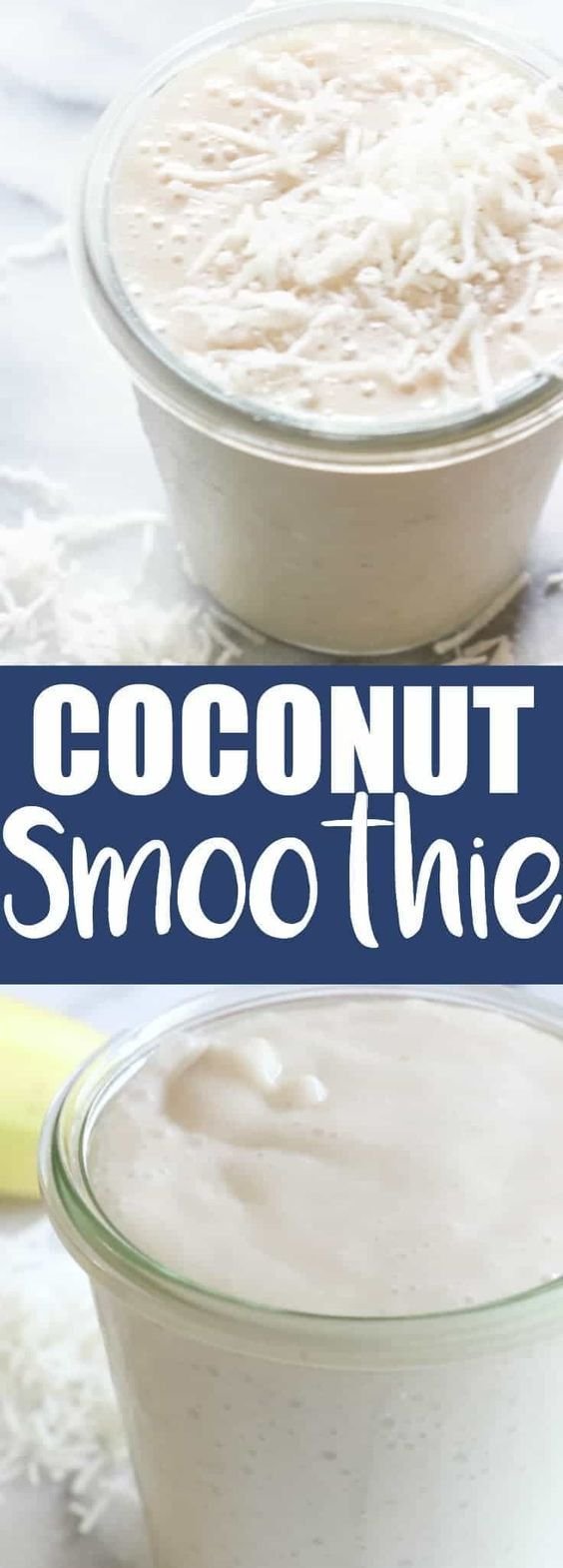 Coconut Smoothie.  This smoothie is loaded with coconut flavor!  Made with coconut milk and other natural ingredients, this is guaranteed the best way to start the day!  Good Morning!!  Let's start the day off right shall we?  And by that I mean let's start it off with a glass full of coconut smoothie.  Out of...Read More