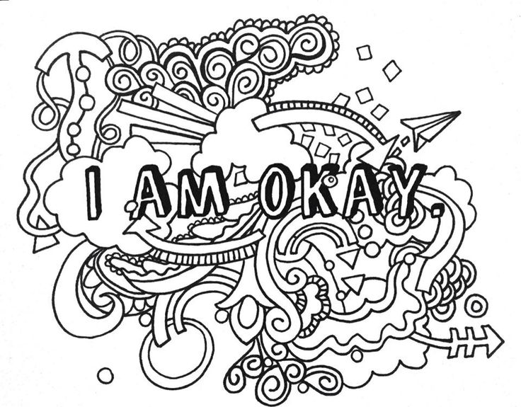 273 best ✐Words Colouring Pages for Adults✐ images on Pinterest ...