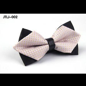 Мужская новой англии стиль галстуки-бабочки корейский мода галстуки регулируемая мужская галстук-бабочку мужской полиэстер галстук-бабочка для свадьбы