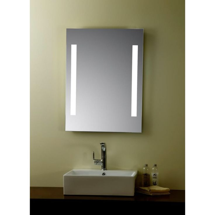 Image result for mirrored illuminated bathroom cabinets