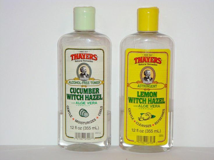 THAYER'S REVIEW : Lemon Witch Hazel Toner - Cucumber Witch Hazel Toner
