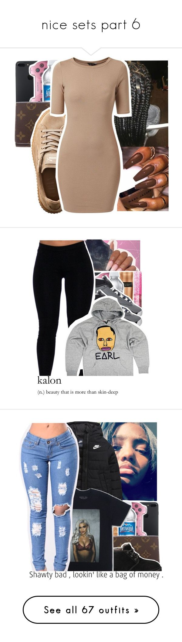 """""""nice sets part 6"""" by geazybxtch24 ❤ liked on Polyvore featuring Puma, Retrò, UGG Australia, NIKE, A BATHING APE, adidas, Joe Browns, Victoria's Secret, HUF and Converse"""