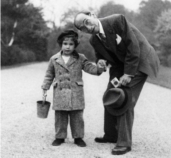 Anne Sinclair and grandfather Paul Rosenberg