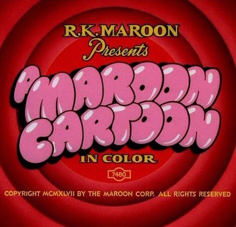 Maroon Cartoon logo