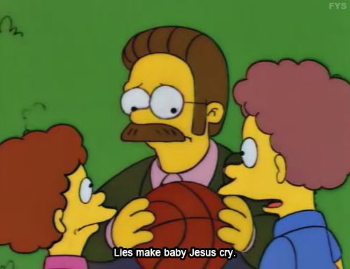 simpsons jesus gifs - Google Search