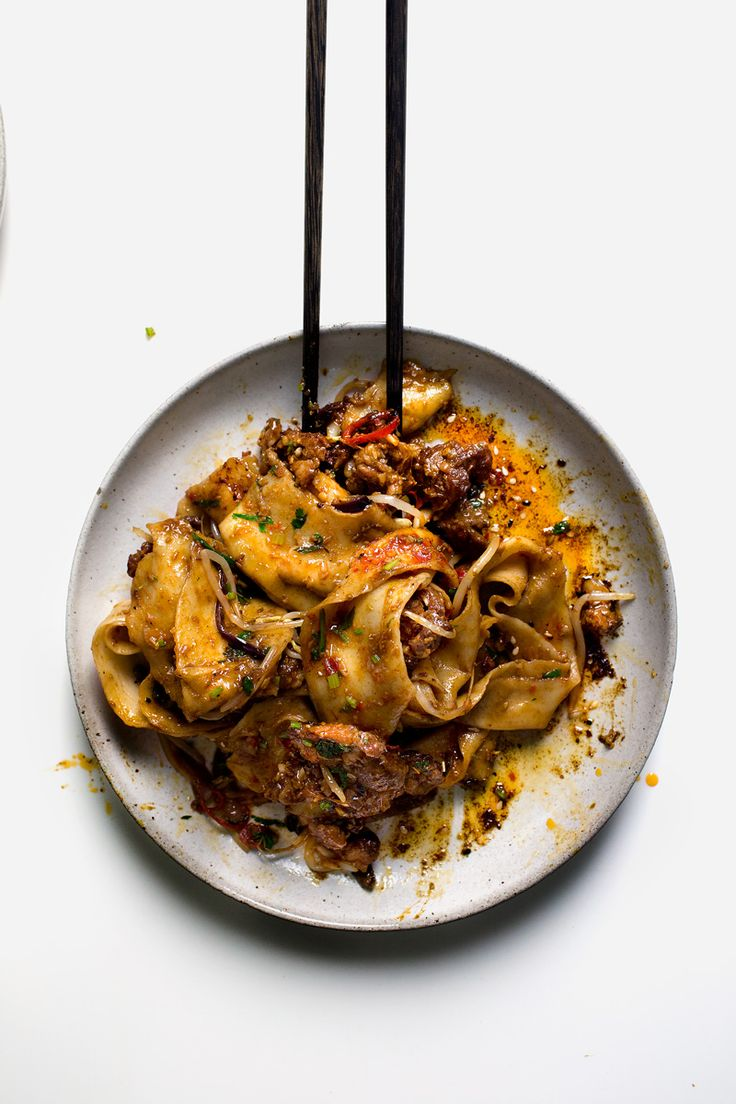 My Xian Famous spicy cumin lamb hand-smashed noodles
