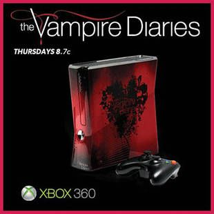 Enter to Win a Custom Vampire Diaries Xbox 360!