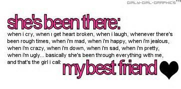 Girl Best Friend Sayings Tumblr my best friend ...