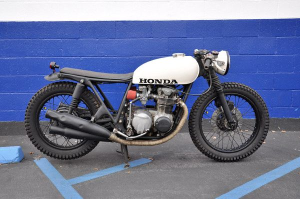 seaweed & gravel cb550 buildbrady young | cafe racer