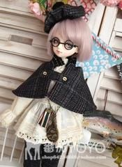 番茄yoyo BJD SD ASRL巨婴63分4分侦探学院套装 娃衣