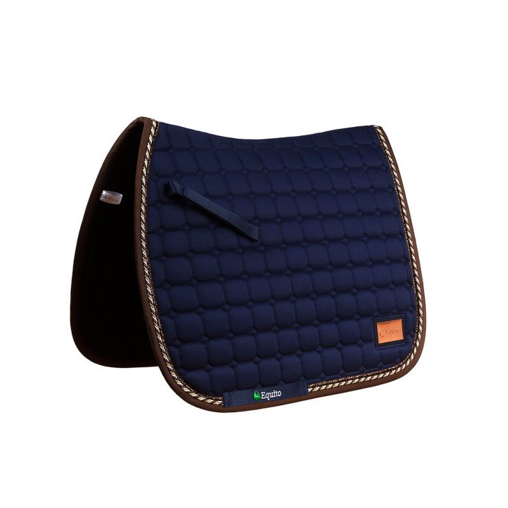 Equito Blue dressage saddle pad