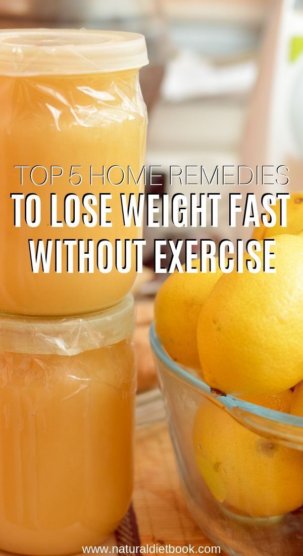 Top 5 Home Remedies to Lose Weight Fast without Exercise – Jasmine Ortiz