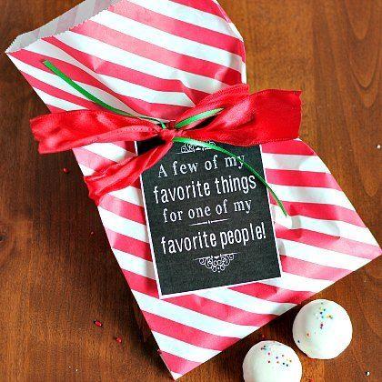Favorite Things Free Printable Tag  Spoonful
