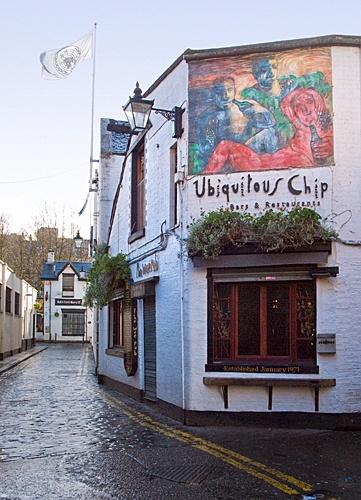 Ubiquitous Chip Ashton Lane (by Joe Son of the Rock); Glasgow
