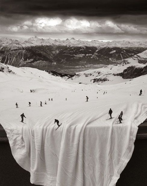 Amazing Surreal Photomontages Created Without the Use of Photoshop Like this.