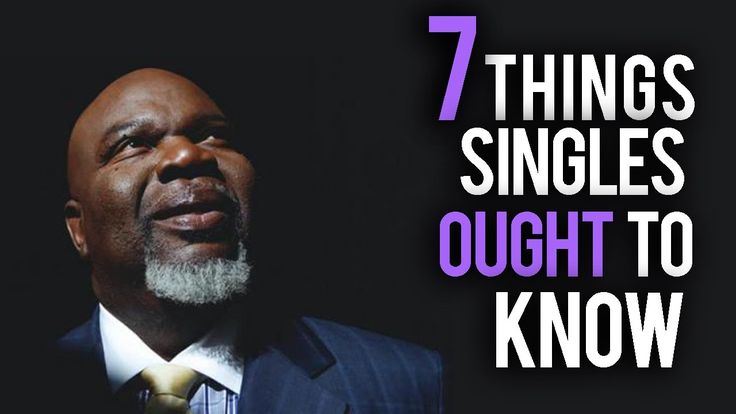 TD Jakes speaks to singles. Alone or not, growth is necessary. So many misconceptions about who God is. What I do know is that it's not about deserving, it's about faith and it's about growth.