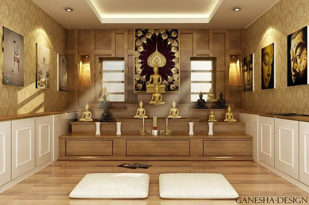 A Practice Room In Buddhist S House House Ideas