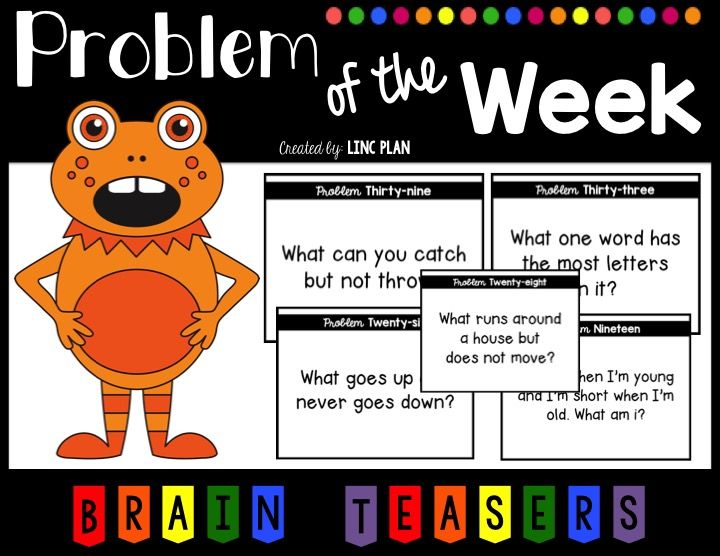 Problem of the Week Brain Teasers Riddles