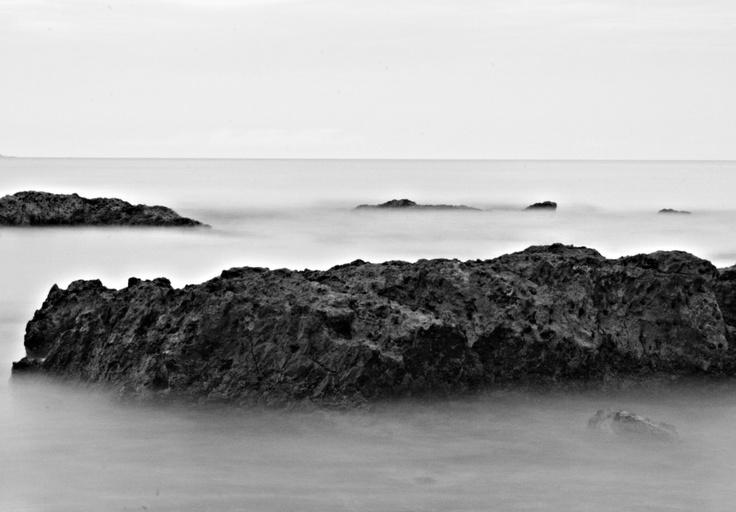 black & white Caseys Beach