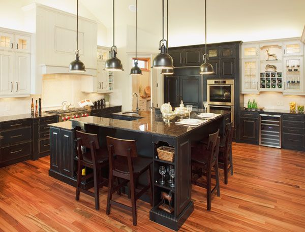 Alder wood :: Black and Antique White Paint with Country Finish ...