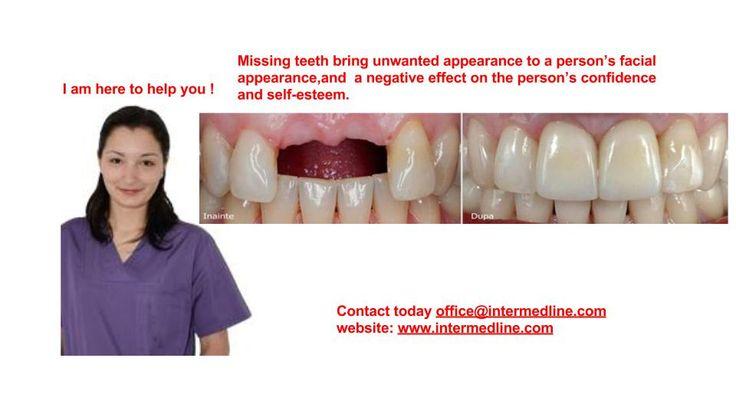 Migliorare l'aspetto estetico con corone dentali in Romania ! Odontoiatria di qualita per Voi ! Vi invitiamo a vedere di più qui e contattaci subito! http://www.intermedline.com/dental-clinics-romania/ #clinicadentale #clinicaodontoiatrica #clinicaodontoiatricainRomania #faccettedentali #faccettedentaliinRomania #coronedentali #coronedentaliinRomania #dentista