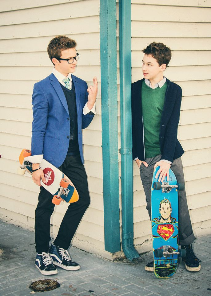 Gavin MacIntosh & Hayden Byerly