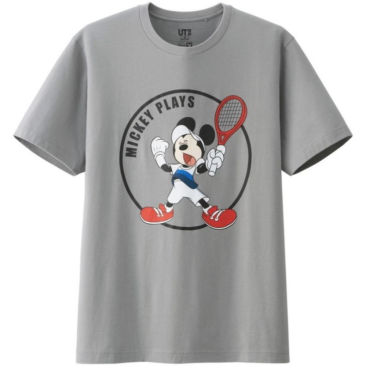 Mickey Mouse Channels Novak Djokovic, Kei Nishikori + More for Mickey Plays UNIQLO T Shirt Collection