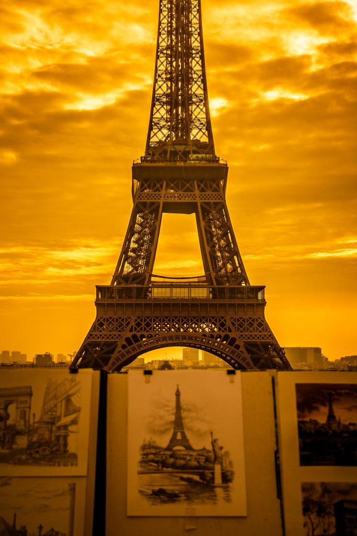 Golden Paris by Karen-Louise Clemmesen on 500px