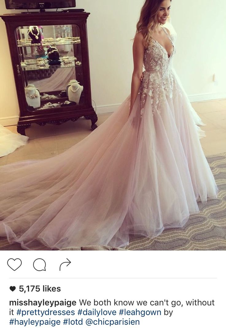 This is my dress! Hayley Paige!