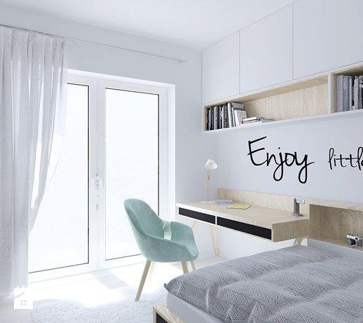 Średni pokój dziecka dla chłopca dla dziewczynki dla ucznia dla nastolatka - zdjęcie od Illa Design